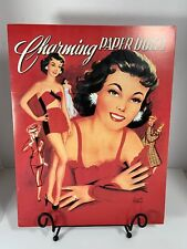 Charming Paper Dolls Book Reproduction 1998 Lucille Wallace