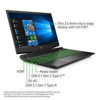 "HP Pavilion Gaming Laptop 15.6"" i5-8300H NVIDIA GTX 1050 8GB 1TB 15-cx0058wm"