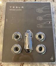 Tesla Wheel Locks Kit, OEM Tesla
