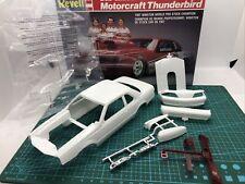 87 Ford Thunderbird Pro Stock Hard BODY UNBILT RVL 1:25 LBR MODEL PARTS Slot Car