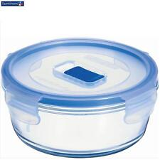 Luminarc Pure Box Active Round Food Container With Lid 67Cl Kitchen Storage New