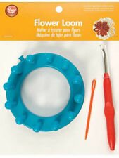 SALE! FLOWER LOOM! EASY TO DO! CREATE FLOWERS FOR HATS~SCARVES~WEDDINGS-CLOTHES!
