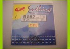 1 confezione 20 Ami Suehiro in acciaio 110 carbon serie r287 n 20 pesca mf bi15