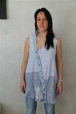 tunika kleid Tunika bluse M & F GIRBAUD vissetibilli GRÖßE S neue etikett
