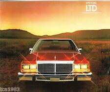 1979 FORD LTD  Brochure / Catalog: LANDAU, STATION WAGON,