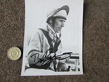 Bruce Raymond horse racing jockey SEP 1975 signé main original press photo