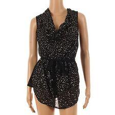 Vero Moda Bluse mit Gürtel Gr.XS 34 Tunika,Wasserfall, Neu, Top Shirt Paletten