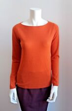 ❄NEW#   MAX MARA Orange Savina Soft 100% Cashmere Jumper, size XL