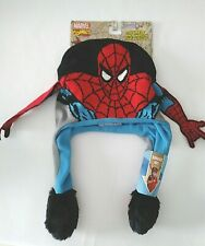 Marvel Comics Spiderman Flipeez squeeze and flip beanie hat by ABG