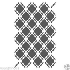 Moroccan Stencils Template -small scale- For Crafting Canvas DIY wall decor #6