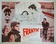 ASCENSEUR POUR L'ECHAFAUD half sheet movie poster 22x28 JEANNE MOREAU MALLE 1959