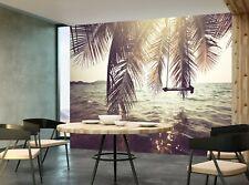 Tropical Beach  Photo Wallpaper Wall Mural DECOR Paper Poster Free Paste