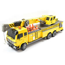 Large Scale 12 Function RC Crane Truck Upgraded Premium Label Version - Hobby En