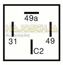 OPEL Relè frecce flash RELAIS CON GANCIO TRAINO 2+1 (6) x 21 WATT
