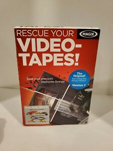 MAGIX Rescue Your Video Tapes! (VHS Video Tape Restoration) : BOXED COPY Version
