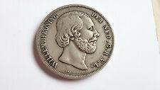 2,5 Gulden / 2 1/2 Gulden , 1856 ,  Koning Willem III der Nederlanden