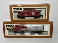Vintage 1970s TYCO Santa Fe Train & Carriage In Original Boxes