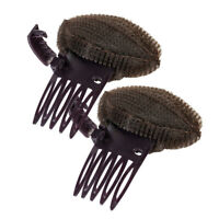 2 Pieces Women Insert Hair Bump Up Comb Styling Tool Hair Base Bouffant Clip