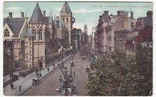 London; The Law Courts & Fleet St PPC, 1920 PMK, To Mrs Albert, Netherwood