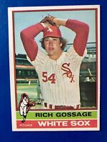 "1976 RICH ""GOOSE"" GOSSAGE TOPPS # 180"