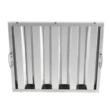 """Box of 6 - 16"""" x 20"""" x 2"""" Stainless Steel Commercial Kitchen Exhaust Hood Filter"""