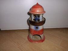 Leuchtturm Deko  Leuchtturm Keramik ca 20 cm hoch für Teelichter