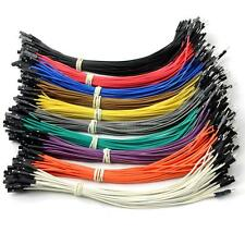 40pcs×20cm female to male Dupont Dupont Wire Color Jumper Cable For Arduino TMPG