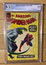 The Amazing Spider-Man #45 Lizzard 1967 PGX 6.5 Off White - White