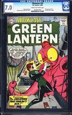 Showcase 24 CGC 7.0 Silver Age Key DC Comic 3rd appearance Hal Jordan IGKC L@@K