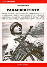 PARACADUTISTI! Paratroopers - Fallschirmjaeger WW2 Croazia Bulgaria Romania