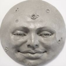 Handcrafted Full Moon, Unique Wall Art, an Original Sculpture by Claybraven