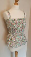 Paul Smith Women's Floral Top New With Tags RRP £95 Size L Summer Pretty Party