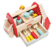 NEW Le Toy Van Childrens Tool Box Incl Tools Wooden Wood Toy 11 Accessories
