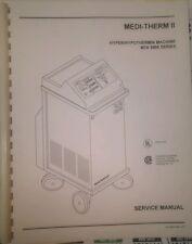 Service Manual for Gaymar Medi-Therm II 5900 Hypothermia Hyperthermia System