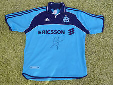 Maillot signé OLYMPIQUE DE MARSEILLE OM signed ERIC ROY ultras foot