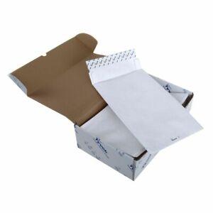 Tyvek E4 406 x 305 x 50mm Peel & Seal White Gusset Envelopes (Pack 100) 11846