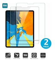 2-Pack 2.5D Round Edge Tempered Glass Screen Protector for iPad Pro 11 2020