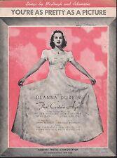 My Own 1938 Deanna Durbin That Certain Age Sheet Music