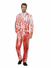 Men's Halloween Costume Blood Drip Suit Outfit Horror Dressup