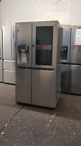 LG GSX961NSVZ American-Style InstaView Smart Fridge Freezer - Steel non plumbed