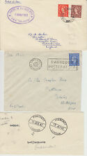 1938-64 lot of 12 x London Paquebot covers inc Arlanza Andes Amazon Caronia