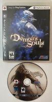Demon's Souls (Sony PlayStation 3 PS3, 2009) Black Label MINT