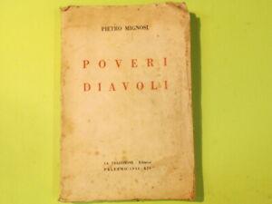 POVERI DIAVOLI MIGNOSI LA TRADIZIONE EDITRICE 1936
