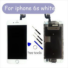 "Color+White iPhone 6S LCD Screen Digitizer Display Home Button+Camera (4.7"")"