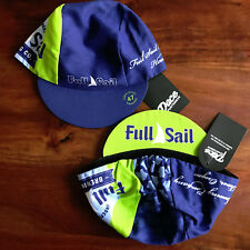 FULL SAIL BREWING CO. TEAM CYCLING CAP NEW NAVY/LIME GREEN BIKE RIDE HAT *