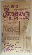 Kadee S SCALE 802 MAGNE-MATIC COUPLERS
