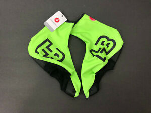 Castelli Men's Lycra Cycling Bike Shoe Cover Bootie - Green