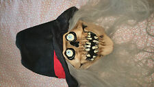 Halloween Head Mask With Long Hair Latex Face Mask Horror Scary