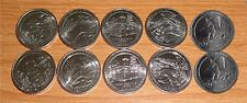 2016 National Park Quarters  P& D all 5 Park Yearly Set - Uncirculated 10 Coins