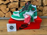 Nike Air Jordan 1 High Lucky Green UK 9.5 EU 44.5 US 12 BNWT 100% Authentic